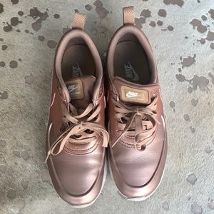 Nike Rose Gold Air Max Thea